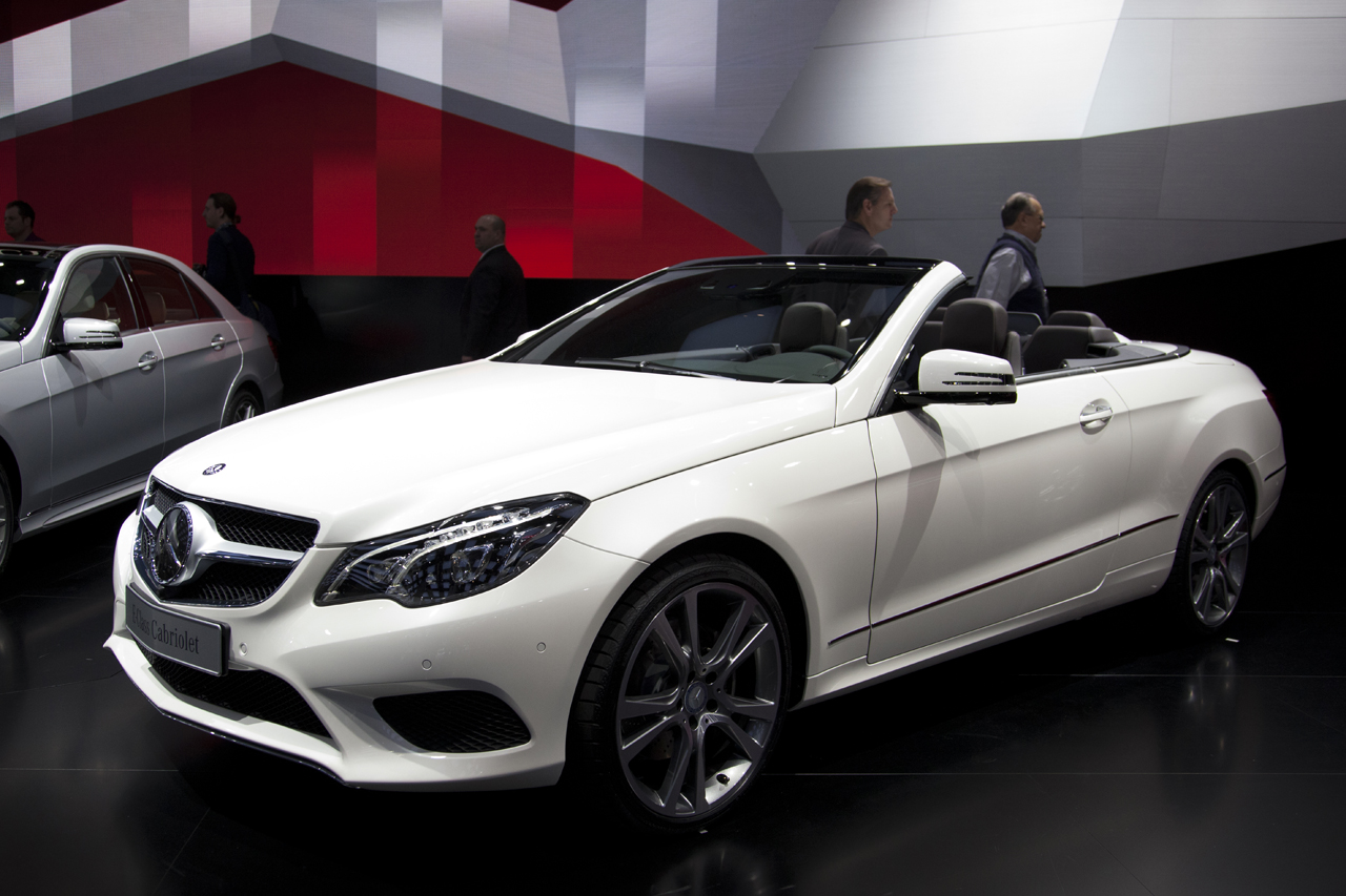 2014 mercedes benz e class cabriolet detroit 2013 photo gallery autoblog. Black Bedroom Furniture Sets. Home Design Ideas