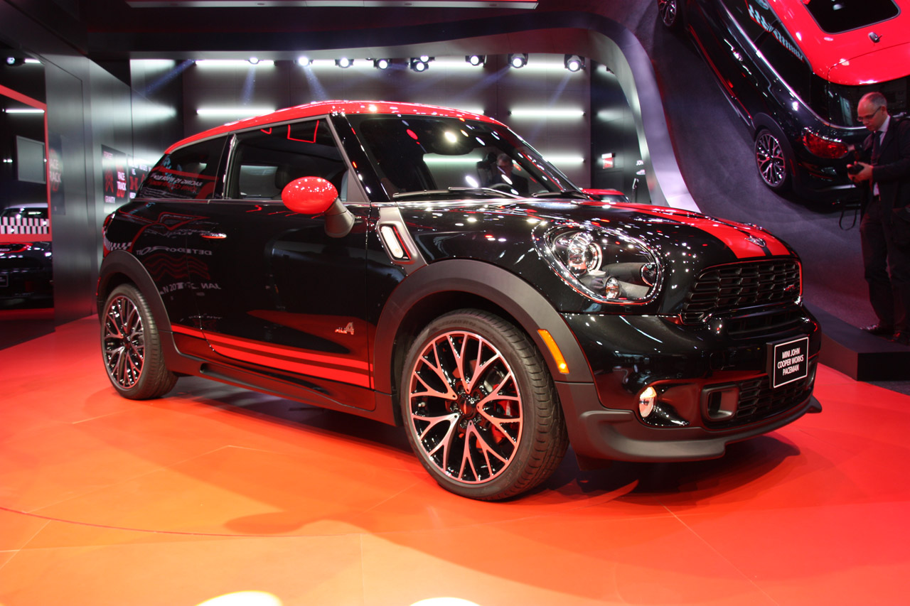 Black Book Car Values >> Mini John Cooper Works Paceman is a potent little hot ...