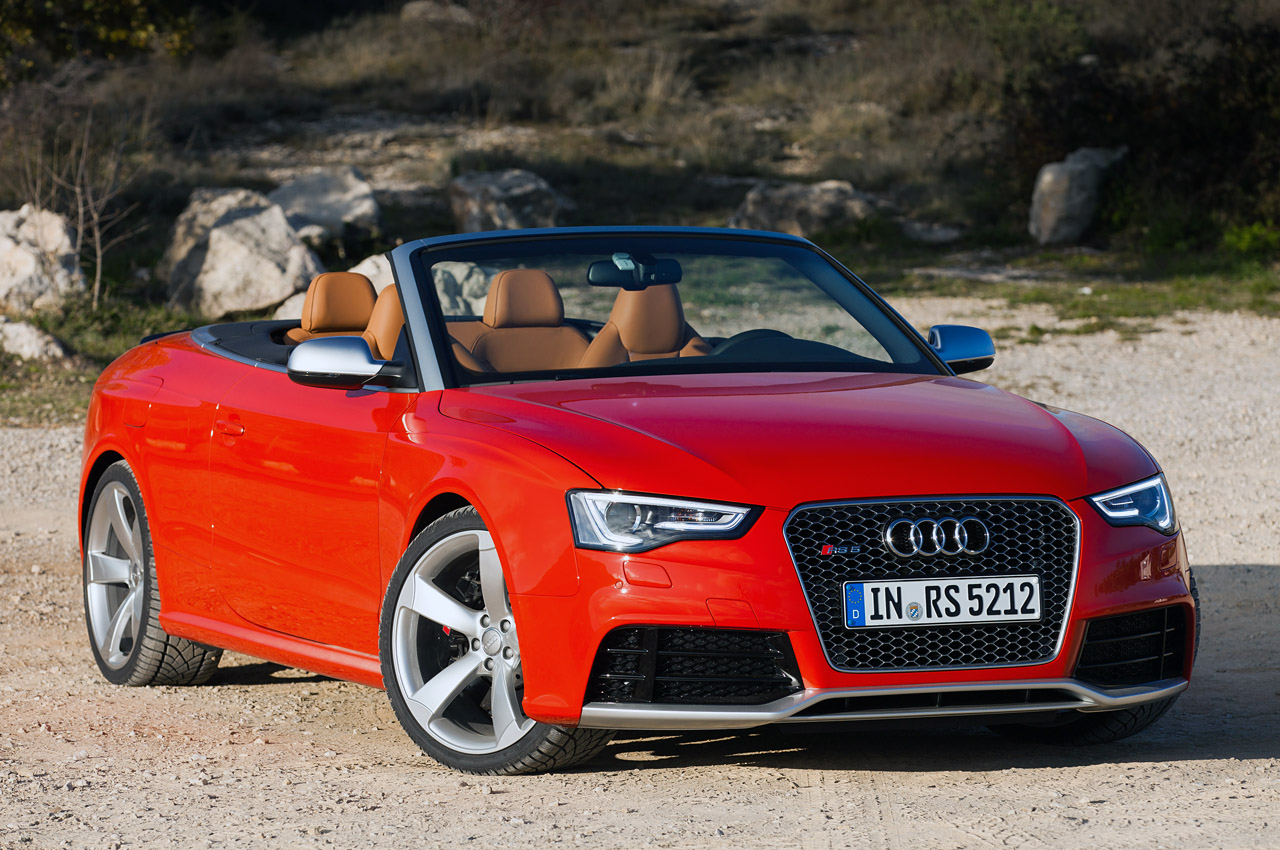audi rs5 cabriolet priced from 77 900 autoblog. Black Bedroom Furniture Sets. Home Design Ideas