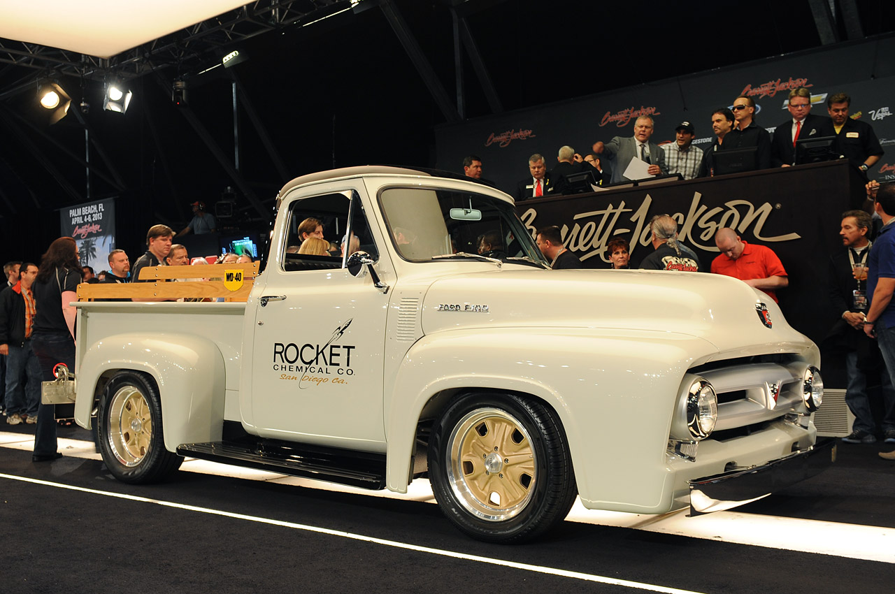 chip foose custom 1953 ford f 100 sells for 170k at barrett jackson update w video autoblog. Black Bedroom Furniture Sets. Home Design Ideas