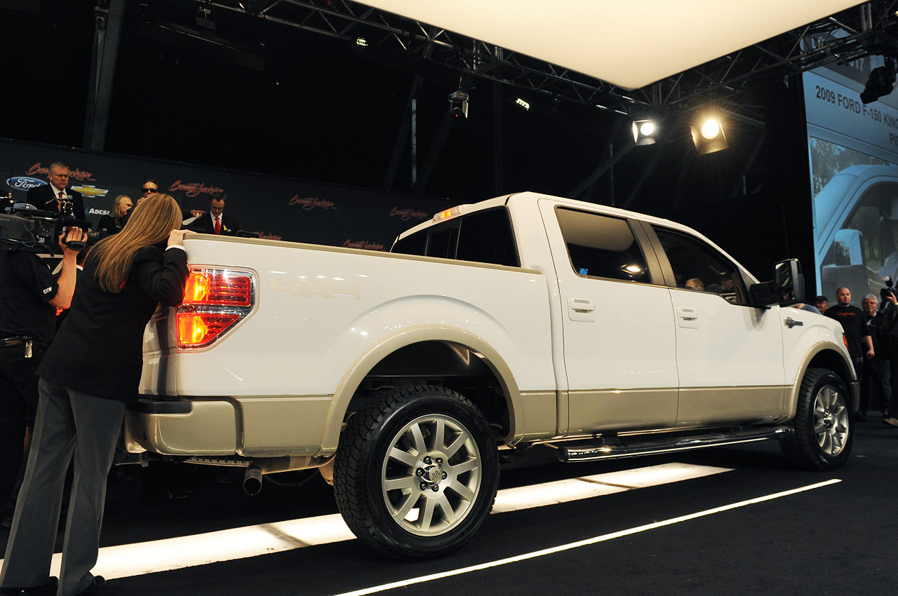 Ford Certified Pre Owned >> George W. Bush's 2009 Ford F-150 fizzles with $300,000 bid ...