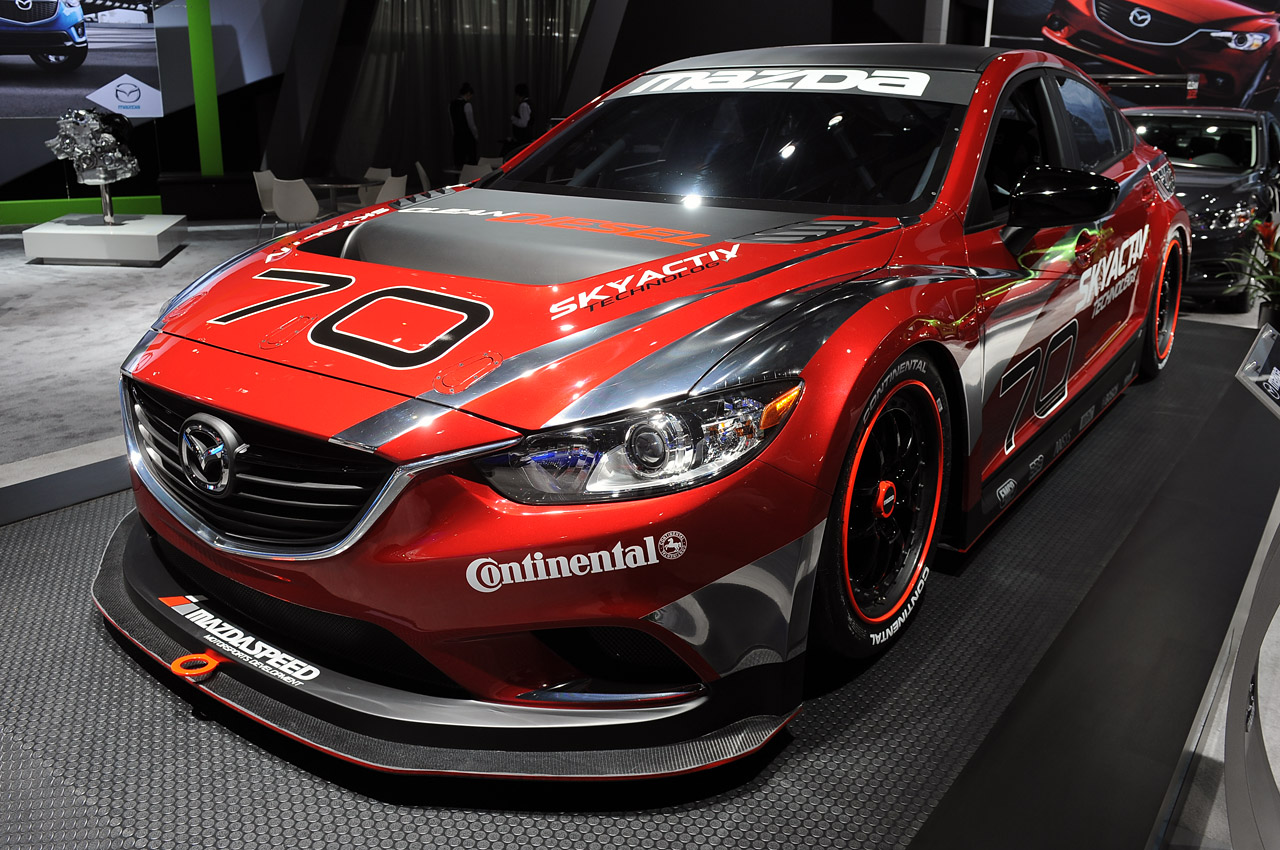 Mazda Certified Pre Owned >> Mazda6 Skyactiv-D Racecar ready to bring diesel to Grand-Am - Autoblog