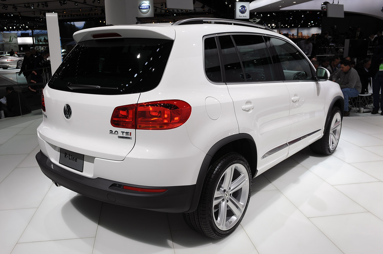 Kia Certified Pre-Owned >> 2014 Volkswagen Tiguan R-Line: Detroit 2013 Photo Gallery ...