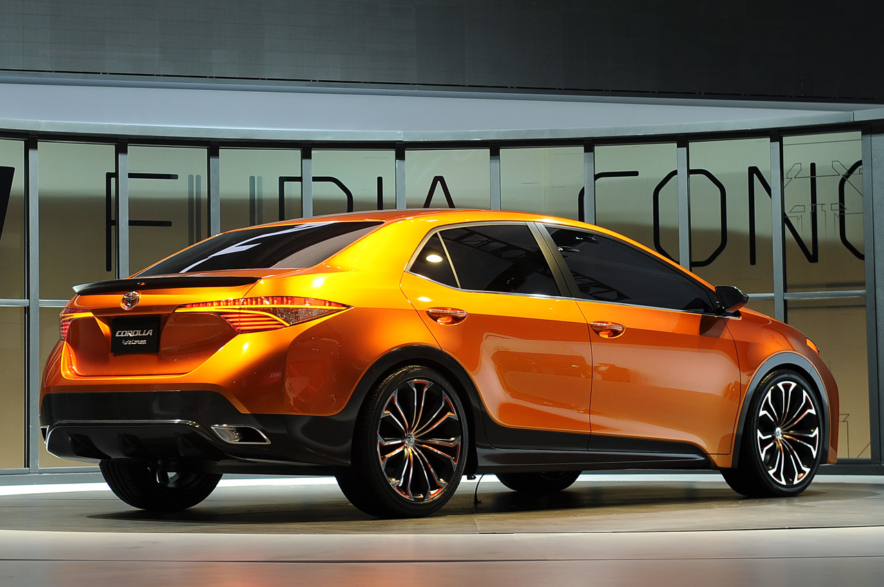 Pre Owned Cars >> Toyota debuts Furia concept, heralds next Corolla design - Autoblog