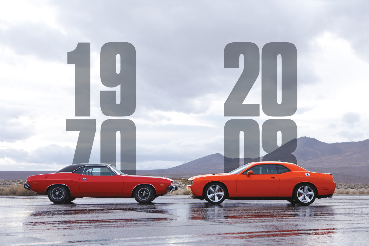 Muscle cars vintage vs new
