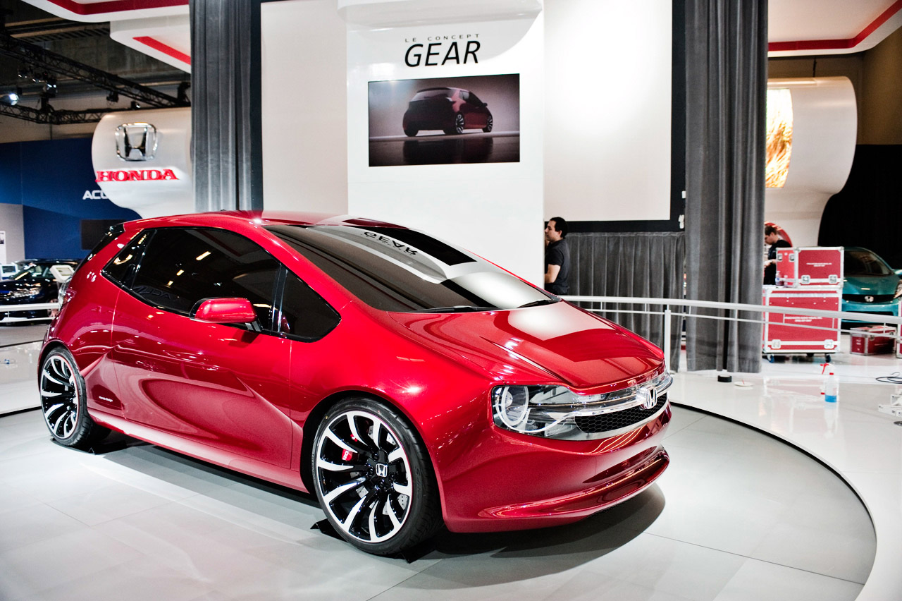 Honda Certified Pre Owned >> Honda Gear concept explored at Montreal Auto Show - Autoblog