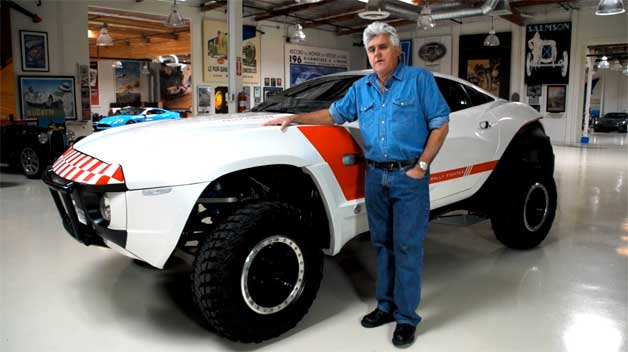 Local Motors Rally Fighter >> Video Local Motors Rally Fighter Crowds Into Jay Leno S