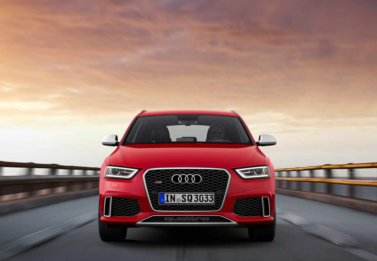 2014 Audi RS Q3 breaks out ahead of Geneva reveal - Autoblog