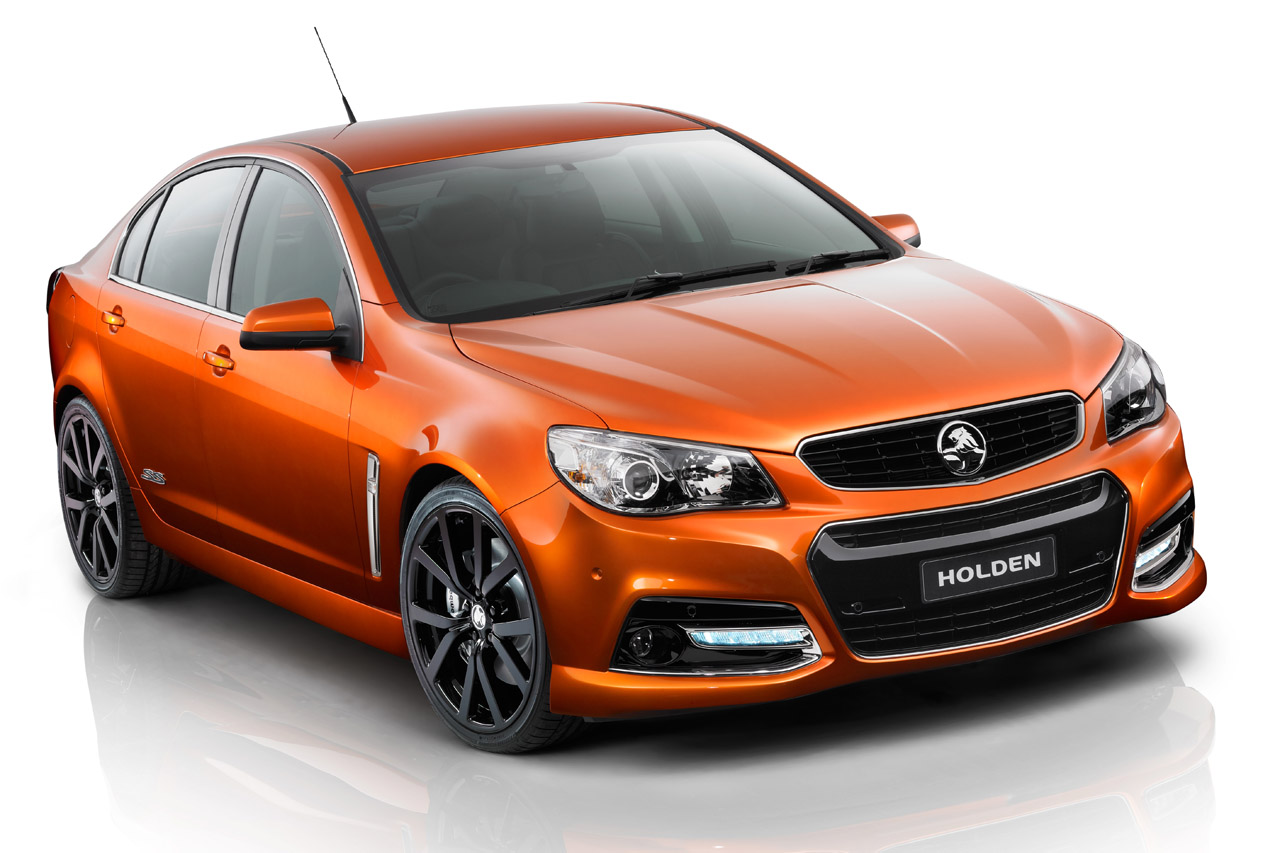 Chevrolet SS previewed by Holden VF Commodore SS V show ...