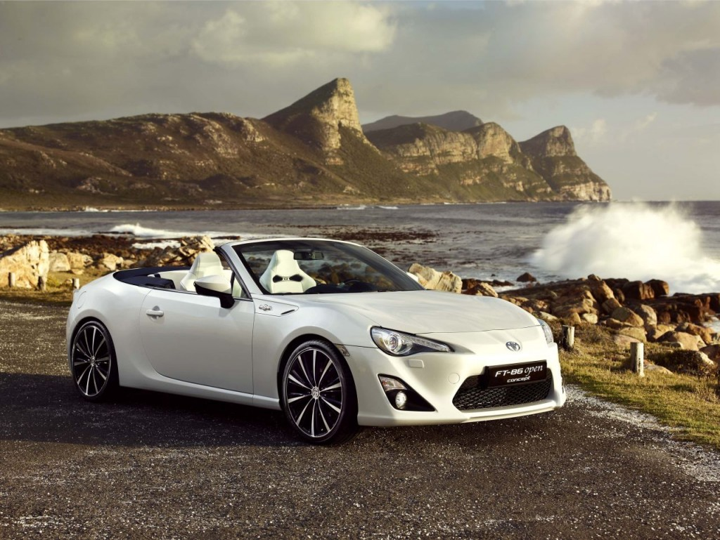 toyota gt86 turbo convertible sedan variants back on the. Black Bedroom Furniture Sets. Home Design Ideas