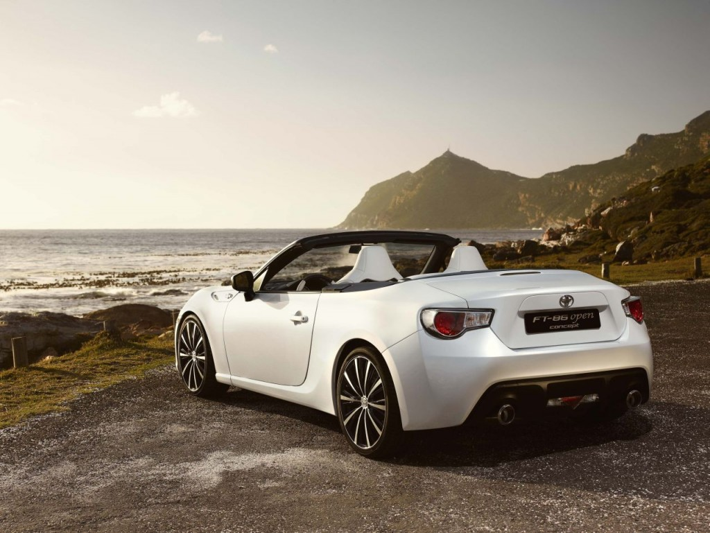 toyota ft 86 open concept photo gallery autoblog. Black Bedroom Furniture Sets. Home Design Ideas