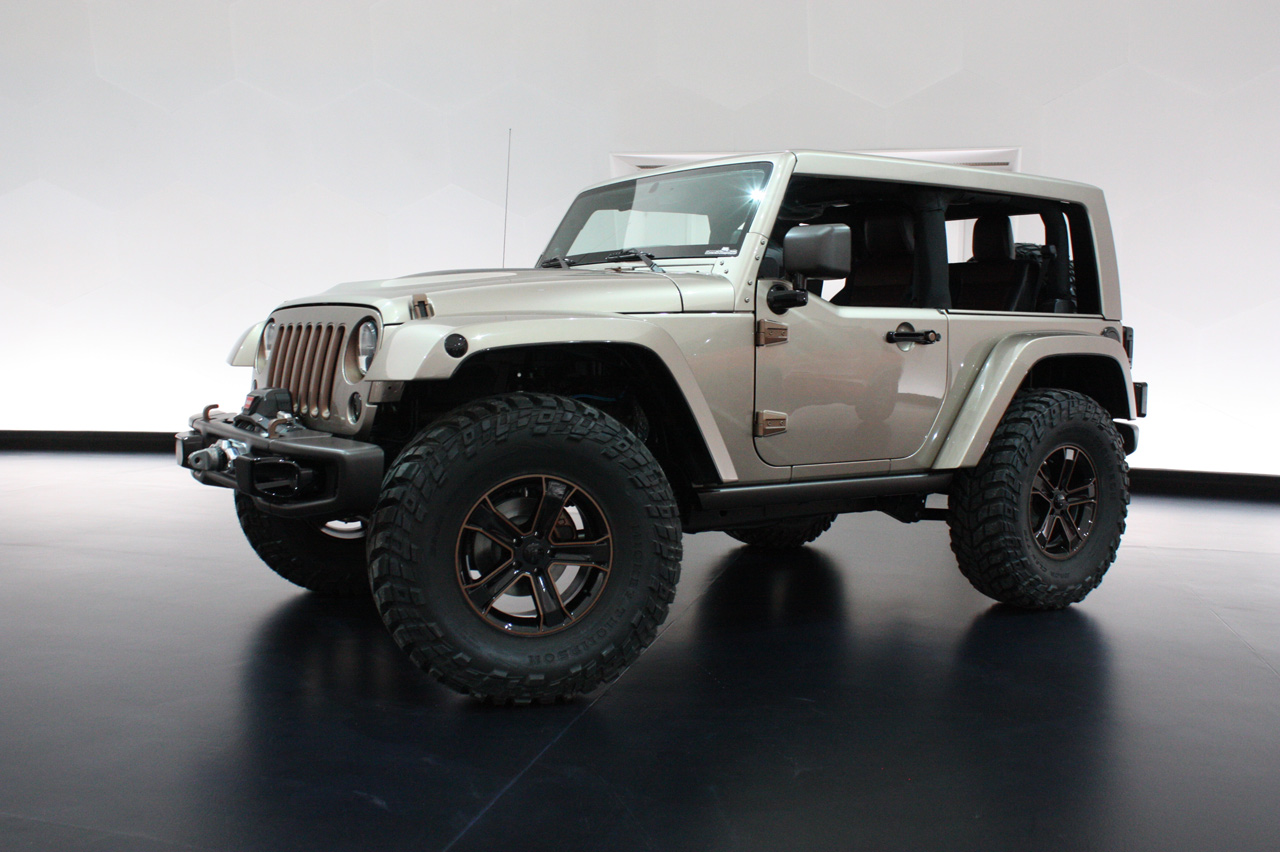 jeep wrangler flattop concept photo gallery autoblog. Black Bedroom Furniture Sets. Home Design Ideas
