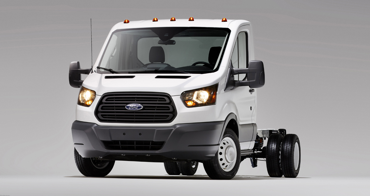 Ford Transit Cutaway >> 2014 Ford Transit unveiled in Chassis Cab and Cutaway ...