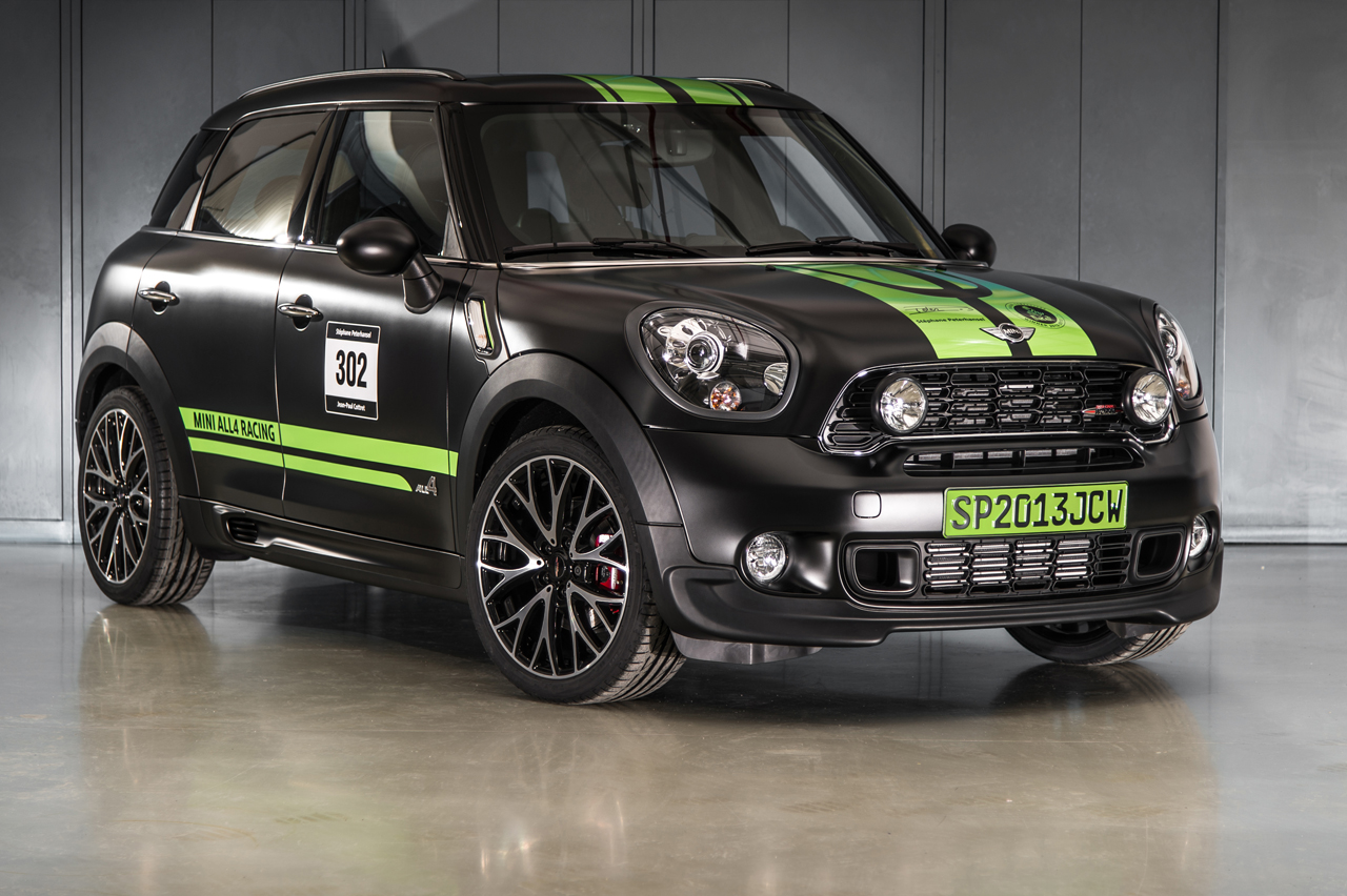 mini celebrates racing success with john cooper works countryman all4 dakar winner 2013 autoblog. Black Bedroom Furniture Sets. Home Design Ideas