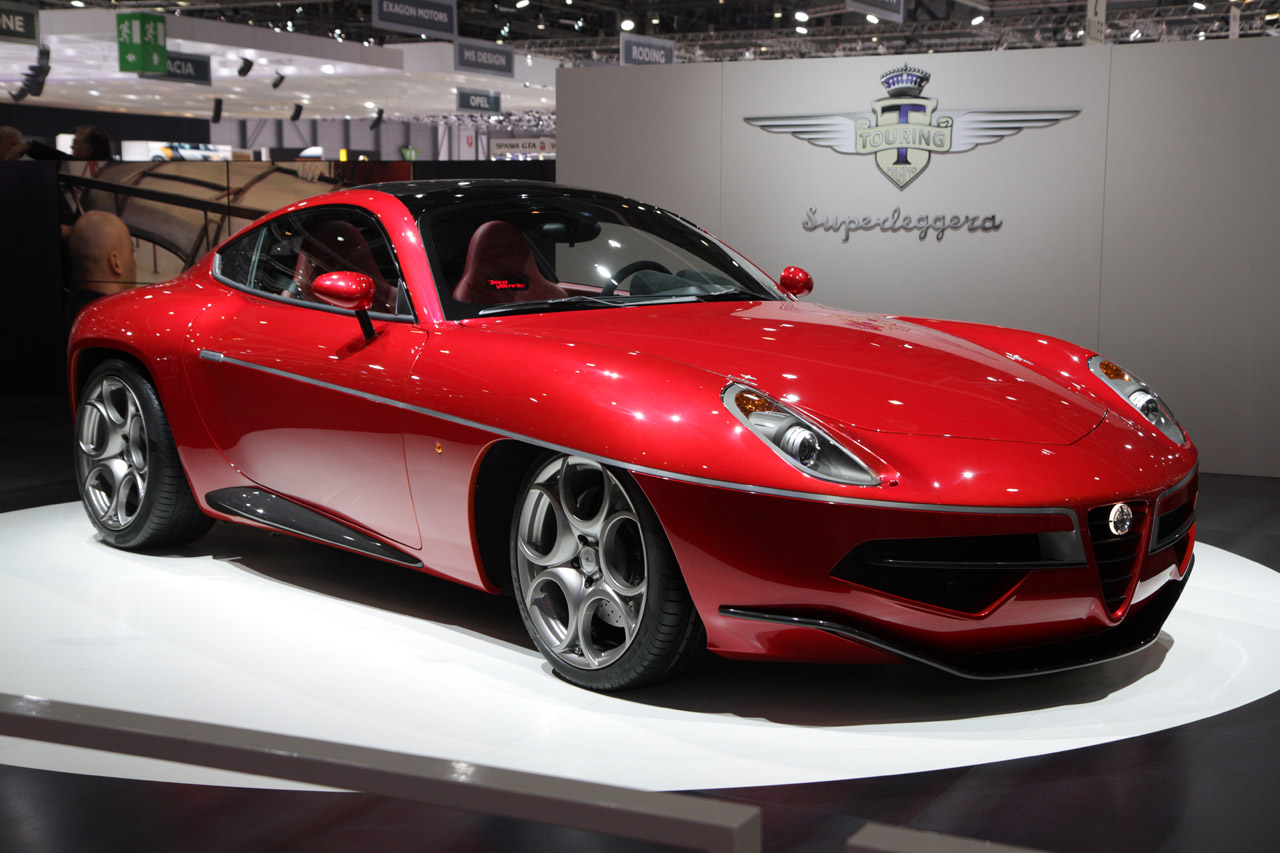 touring superleggera disco volante is a stunning labor of love autoblog. Black Bedroom Furniture Sets. Home Design Ideas