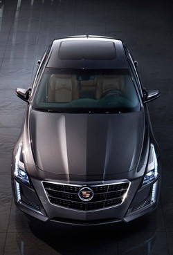 2014 Cadillac Cts Debuts New Design Twin Turbo Power Vsport Model