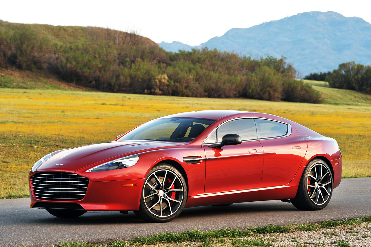 2014 Aston Martin Rapide S: First Drive Photo Gallery