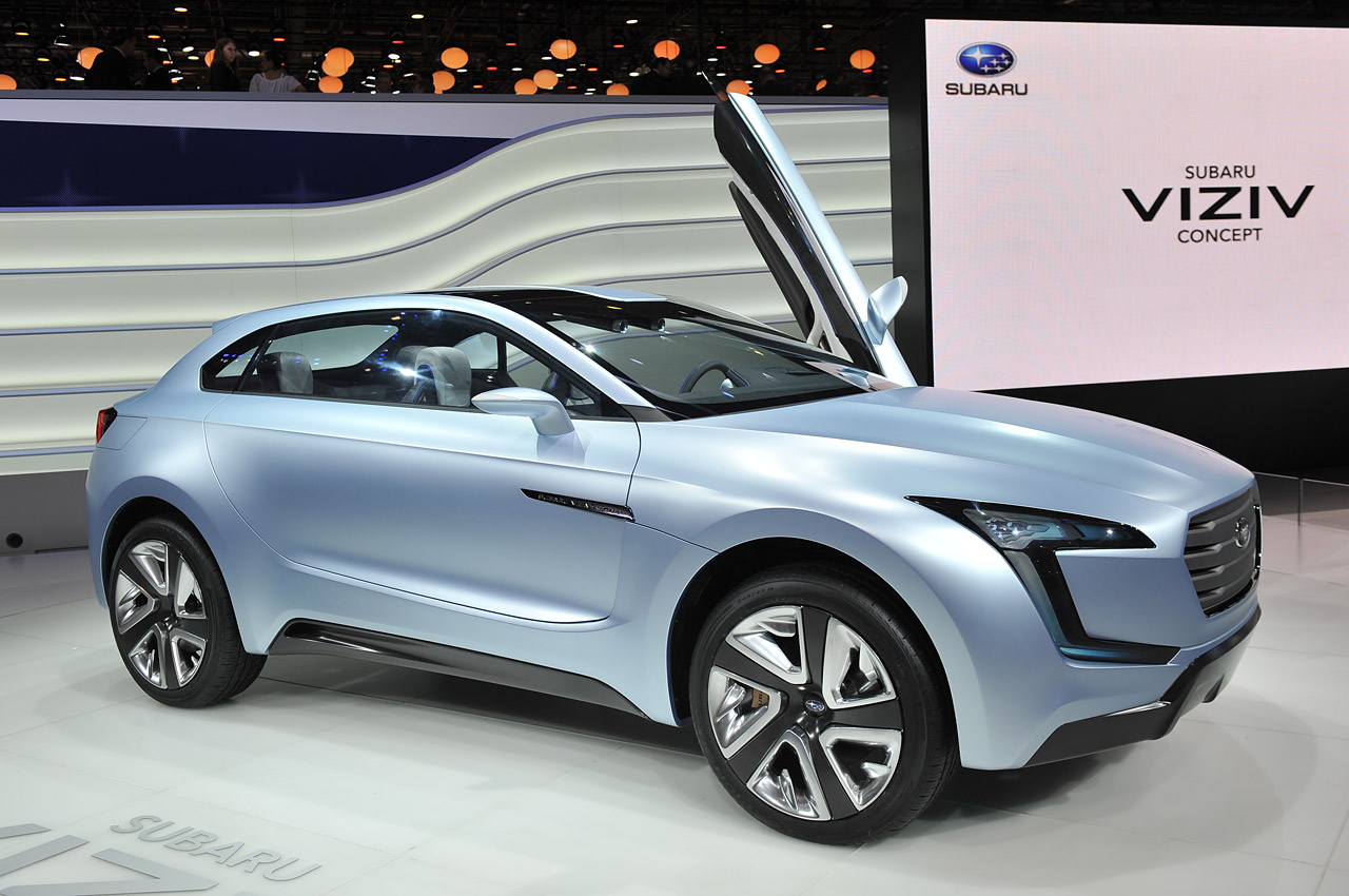 subaru viziv is a diesel hybrid crossover we could learn to love autoblog. Black Bedroom Furniture Sets. Home Design Ideas