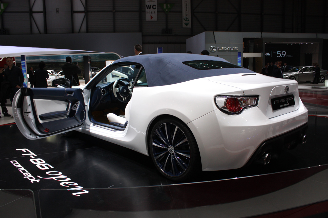 toyota ft 86 open concept geneva 2013 photo gallery autoblog. Black Bedroom Furniture Sets. Home Design Ideas
