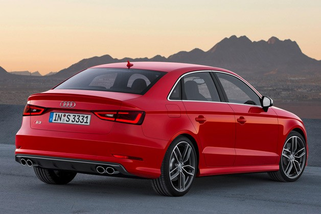 audi s3 sedan boasts sae 296 hp 0 60 in 4 7 seconds. Black Bedroom Furniture Sets. Home Design Ideas