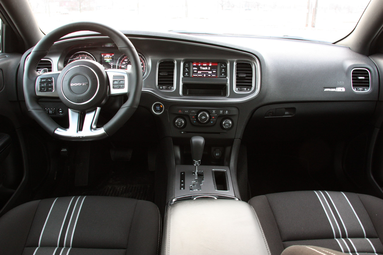 Dodge Charger 2014 Black Interior