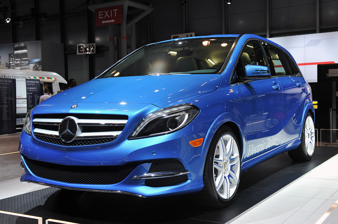 Mercedes Certified Pre Owned >> 2014 Mercedes-Benz B-Class Electric Drive is headed for US - Autoblog