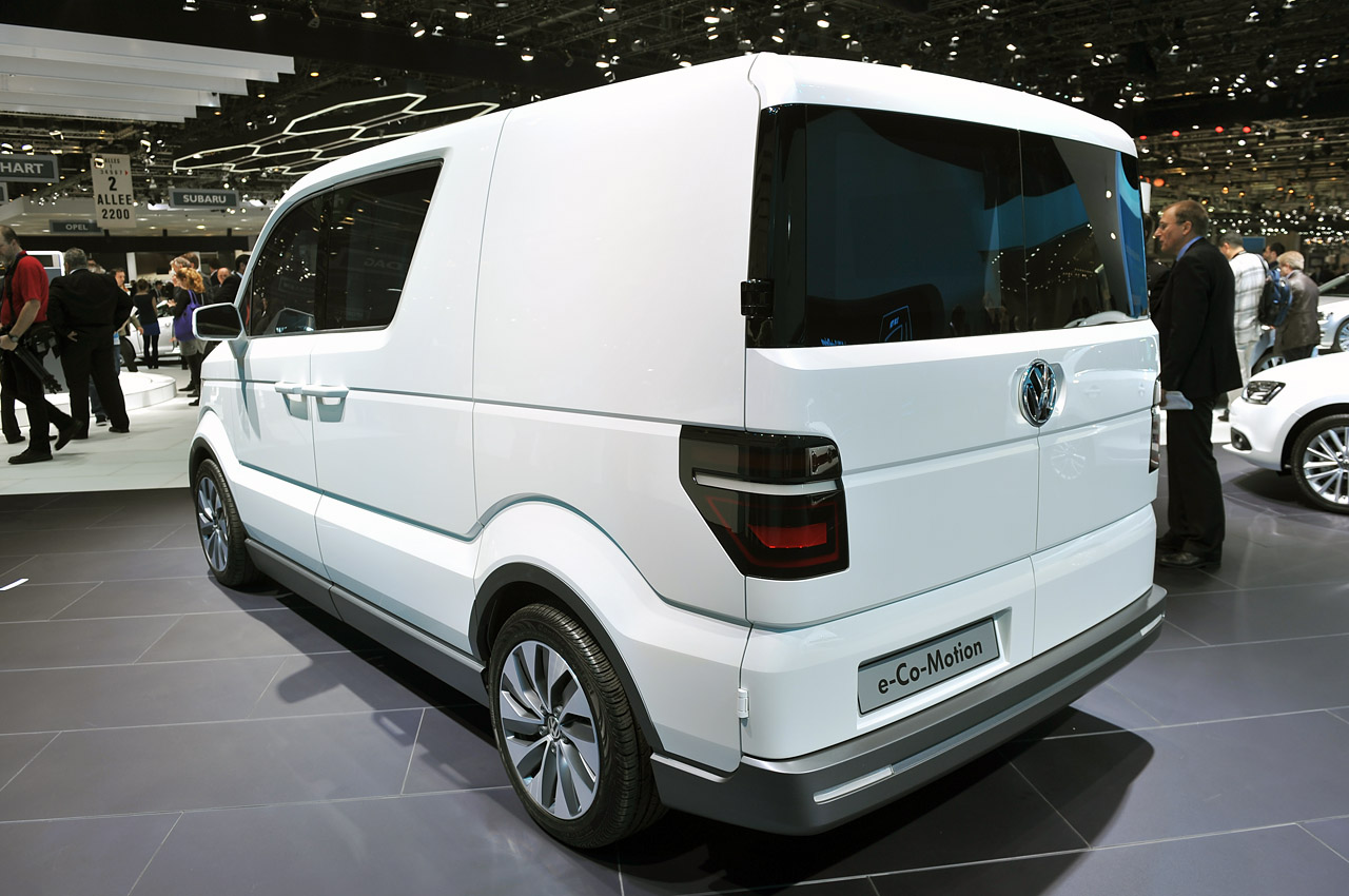 Volkswagen E Co Motion Concept Brings Electric Mobility To
