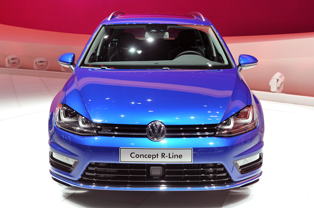 Volkswagen Golf Variant Concept R Line Geneva 2013 Photo Gallery