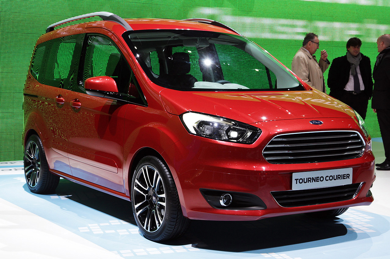 ford tourneo courier geneva 2013 photo gallery autoblog. Black Bedroom Furniture Sets. Home Design Ideas