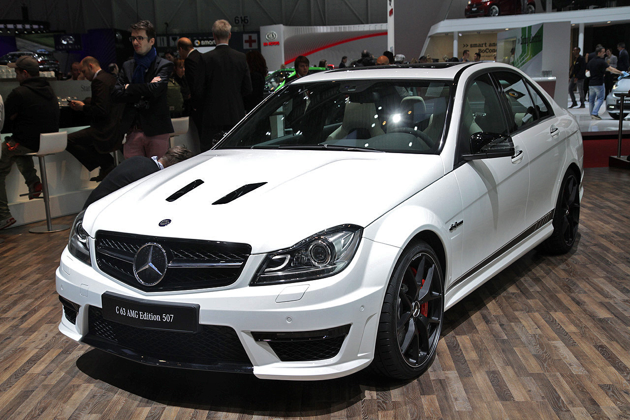 2014 Mercedes-Benz C63 AMG Edition 507 still lights our fire