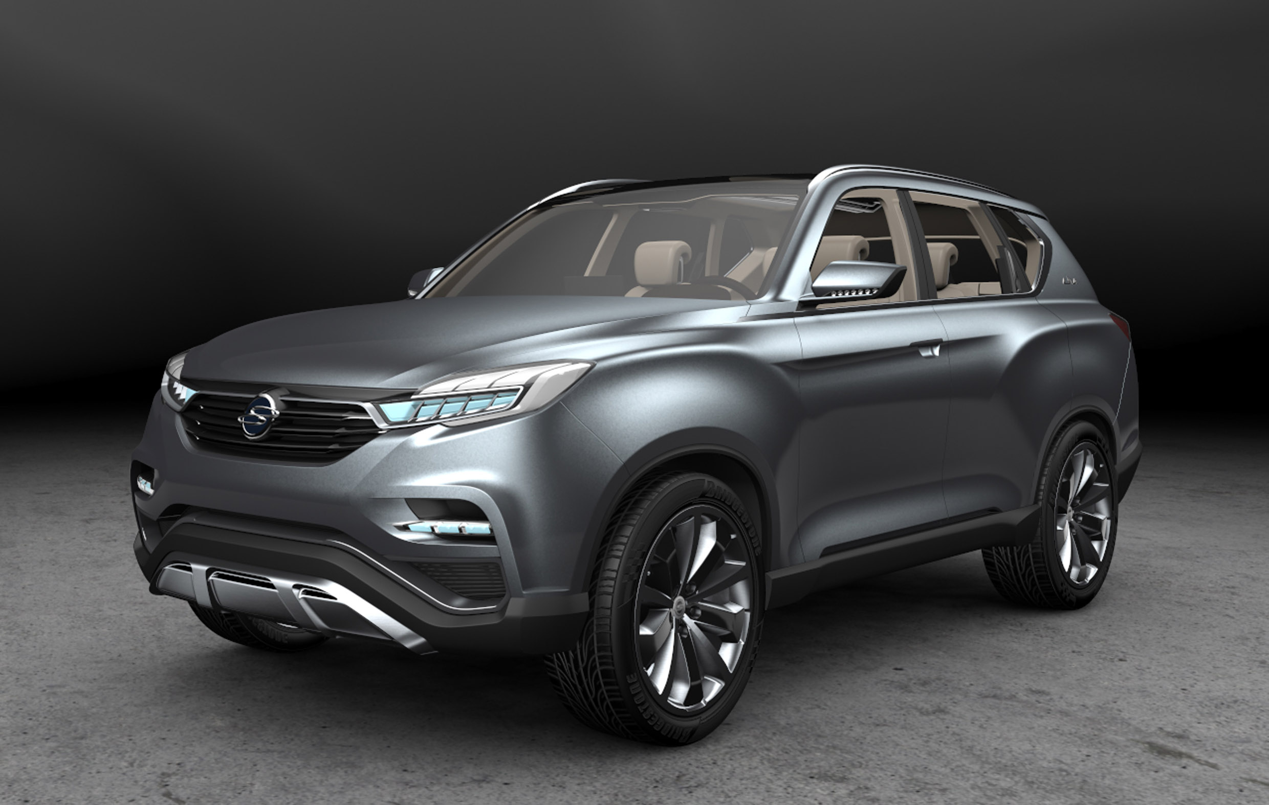 Ssangyong Gets Handsome With Liv 1 Large Suv Concept