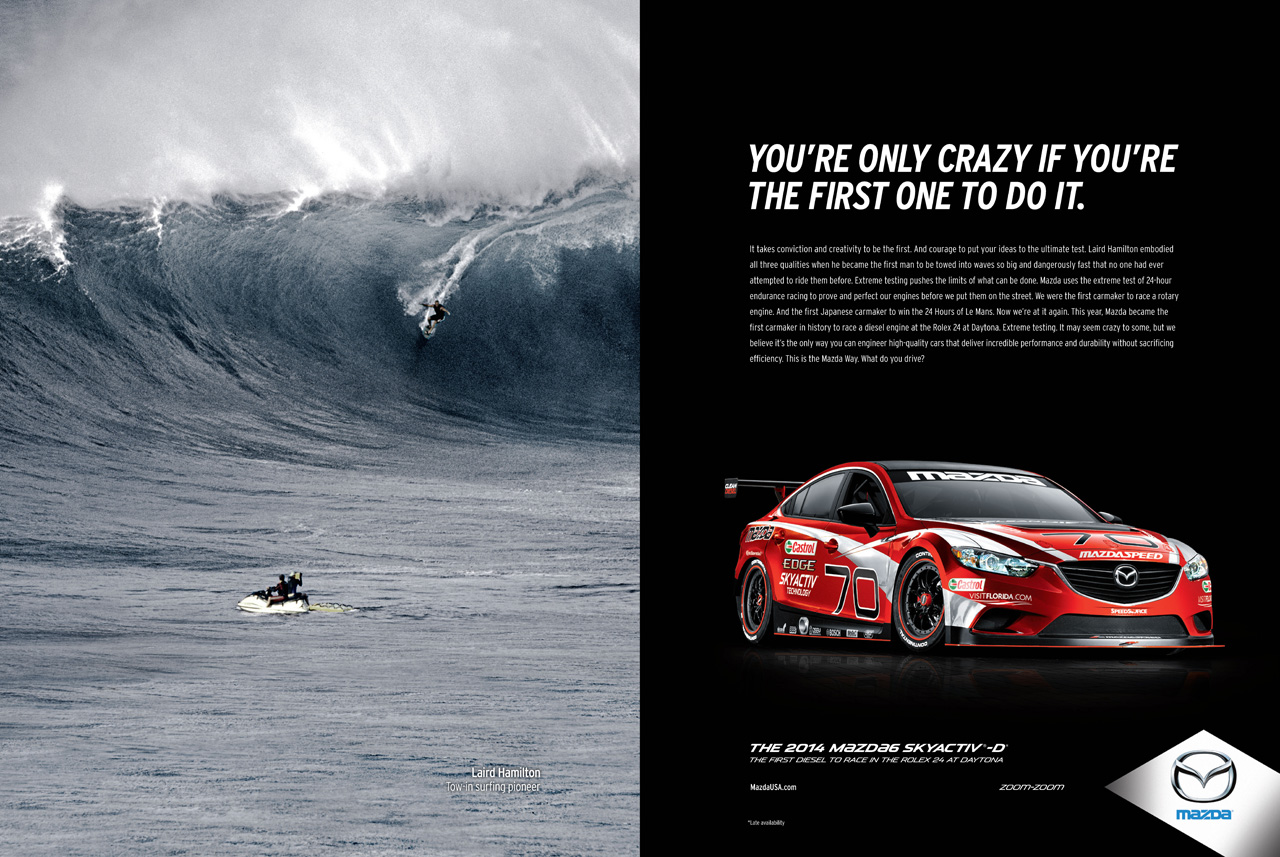 Pre Owned Tesla >> Mazda reveals new 'Game Changers' advertising campaign ...