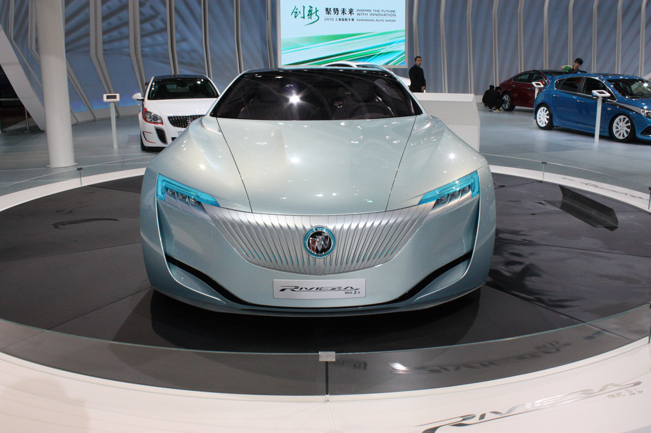 Buick Riviera Concept Hits The Floor In Shanghai Autoblog