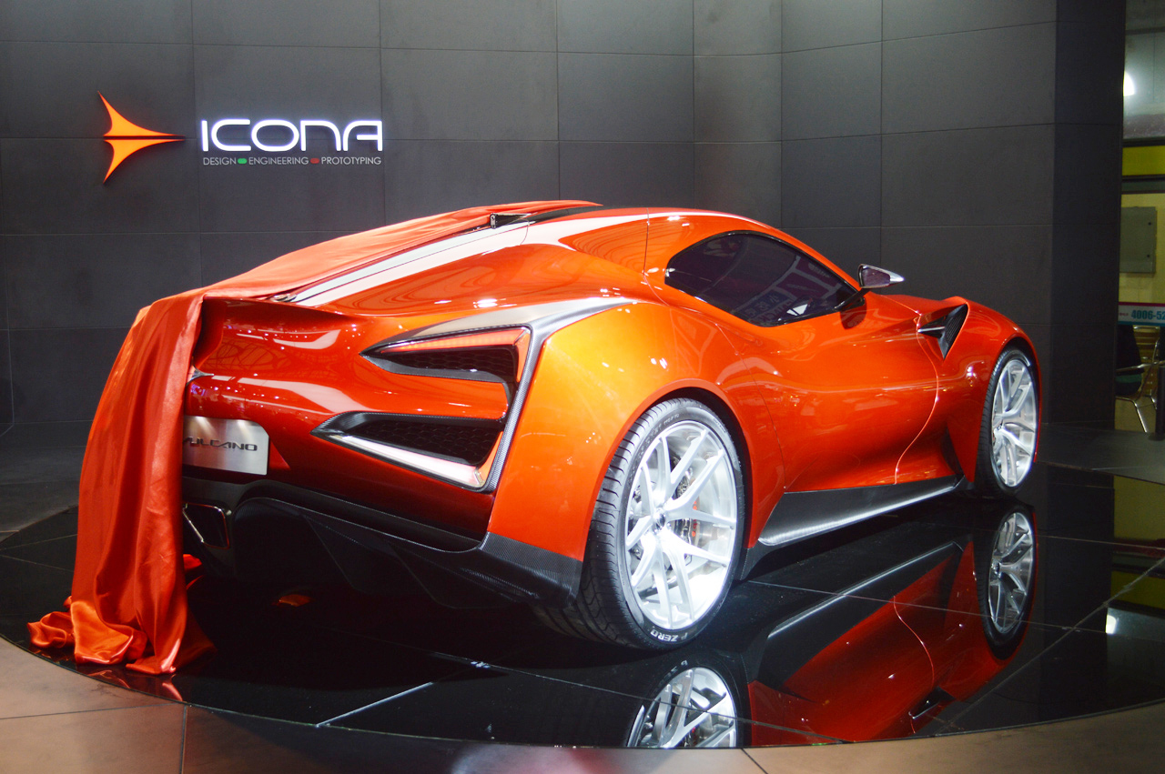 Icona Vulcano Shanghai 2013 Photo Gallery Autoblog