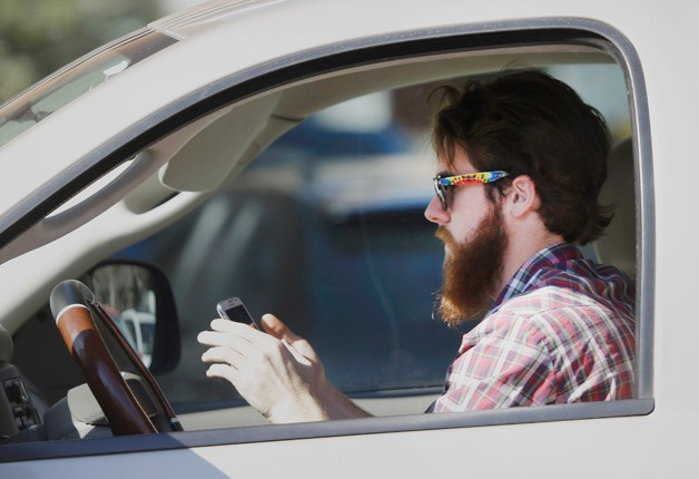 Texting while driving is a distraction