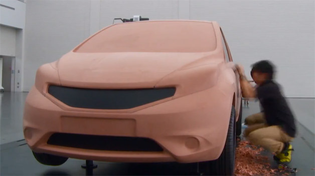 Bucks Auto Sales >> Nissan gives us the business on the art of clay modeling