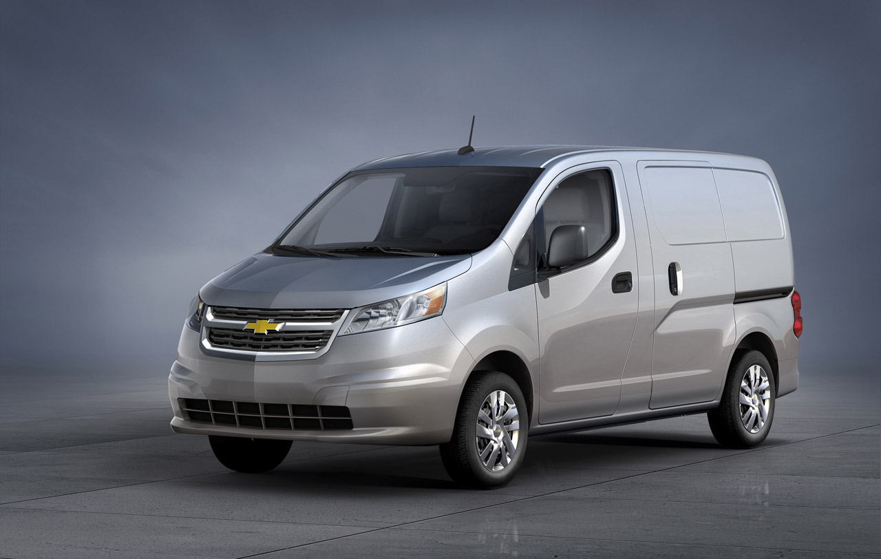nissan nv200 puts on a bowtie as new chevy city express autoblog. Black Bedroom Furniture Sets. Home Design Ideas