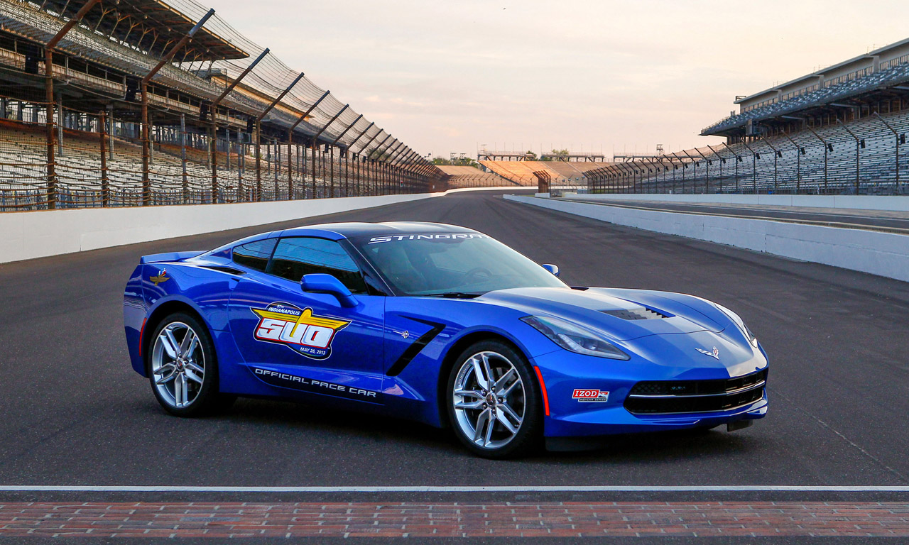 Indy Gas Prices >> 2014 Chevrolet Corvette Stingray confirmed as Indy 500 ...
