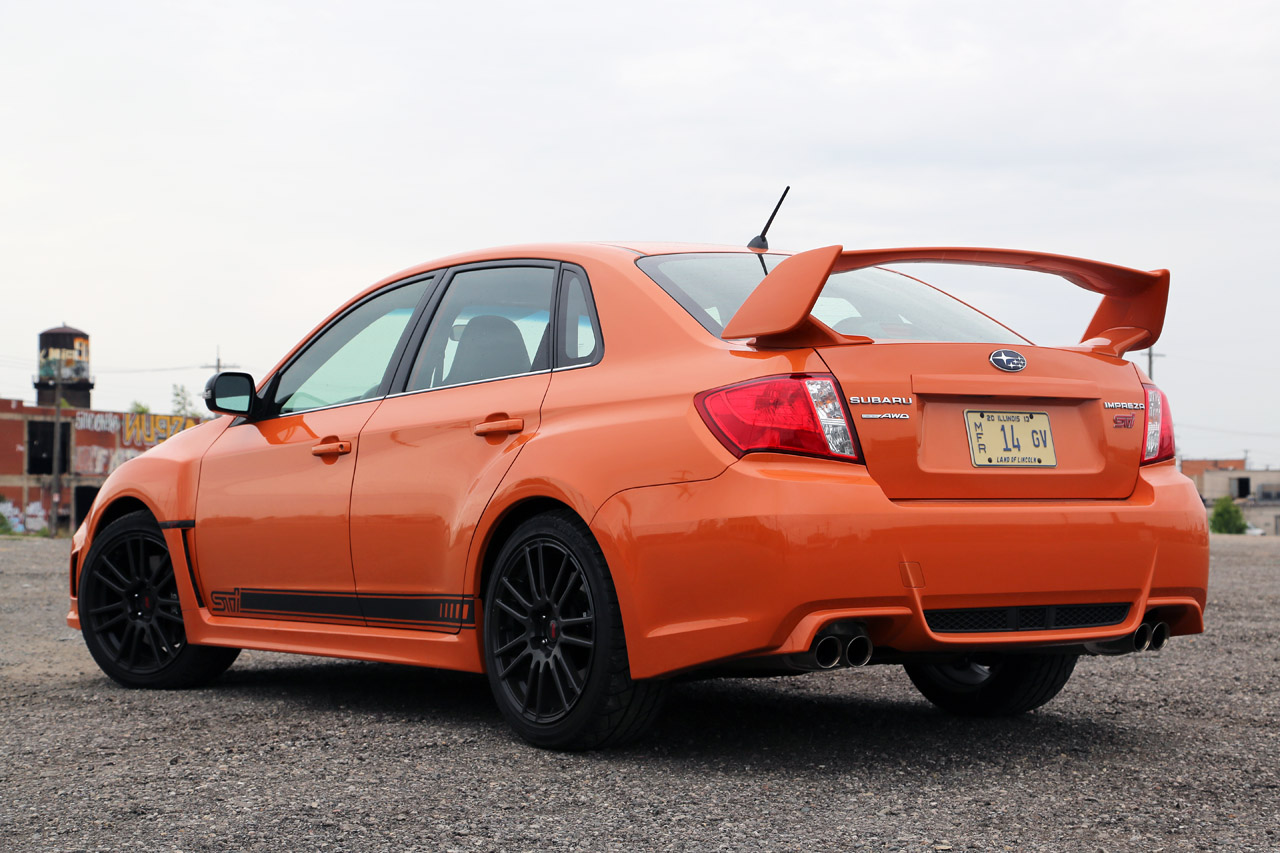 2014 subaru wrx and sti pricing announced autoblog. Black Bedroom Furniture Sets. Home Design Ideas