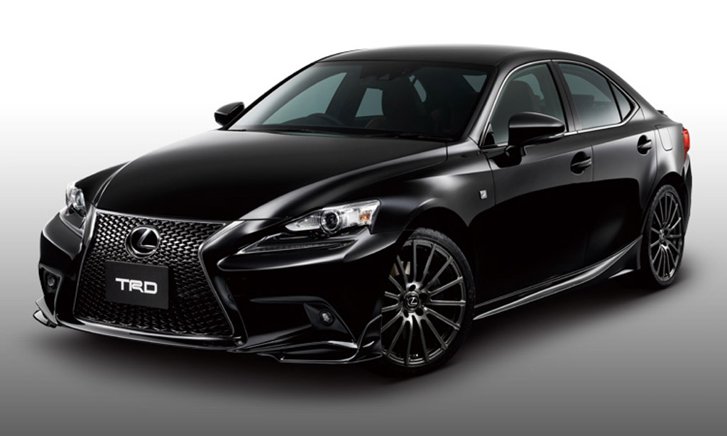 2014 lexus is gets trd bits autoblog. Black Bedroom Furniture Sets. Home Design Ideas
