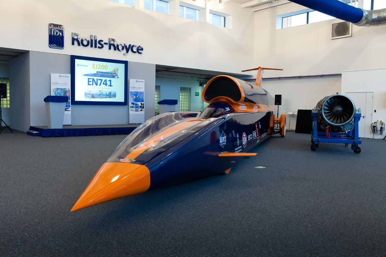 Certified Pre Owned BMW >> Rolls-Royce gets into LSR game, backs Bloodhound SSC [w/video] - Autoblog