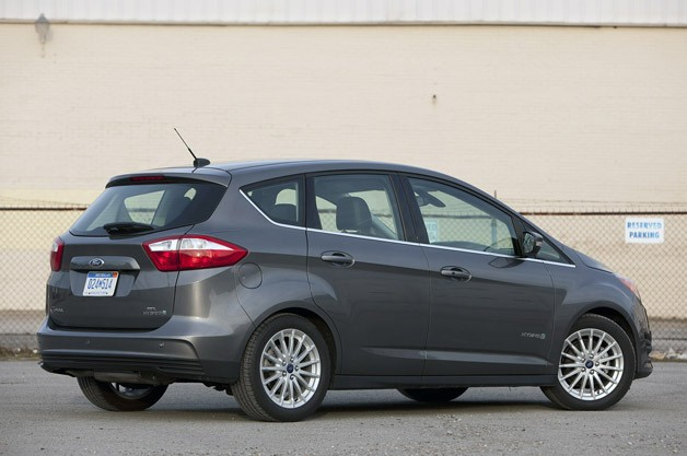 2017 Ford C Max Hybrid Rear 3 4 View