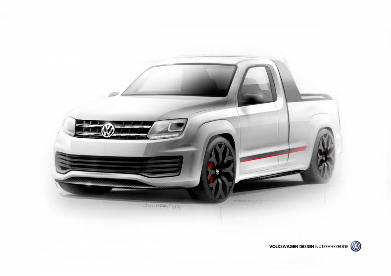 vw amarok r style debuting at worthersee autoblog. Black Bedroom Furniture Sets. Home Design Ideas