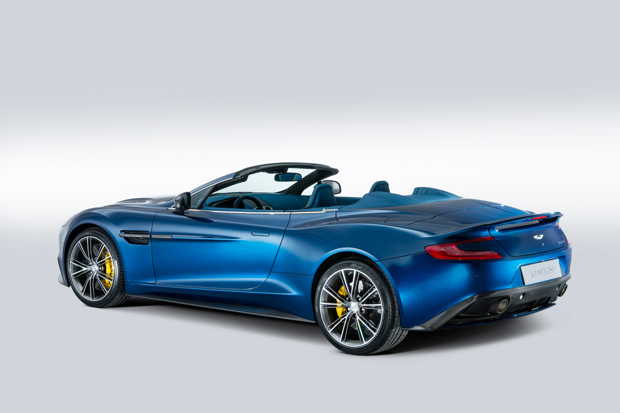 2014 Aston Martin Vanquish Volante Drops Its Mind