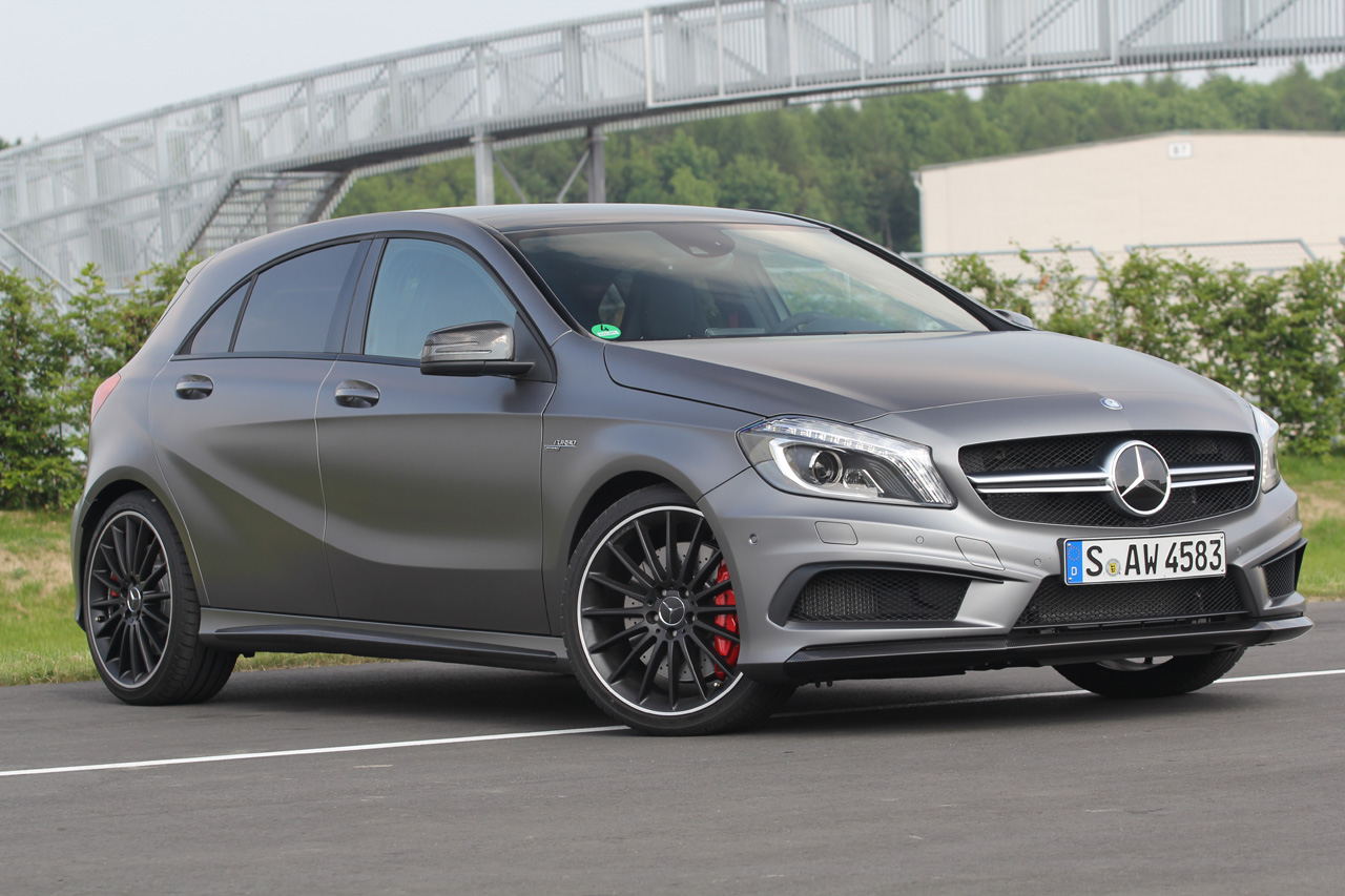 2013 mercedes a45 amg 4matic w video autoblog. Black Bedroom Furniture Sets. Home Design Ideas