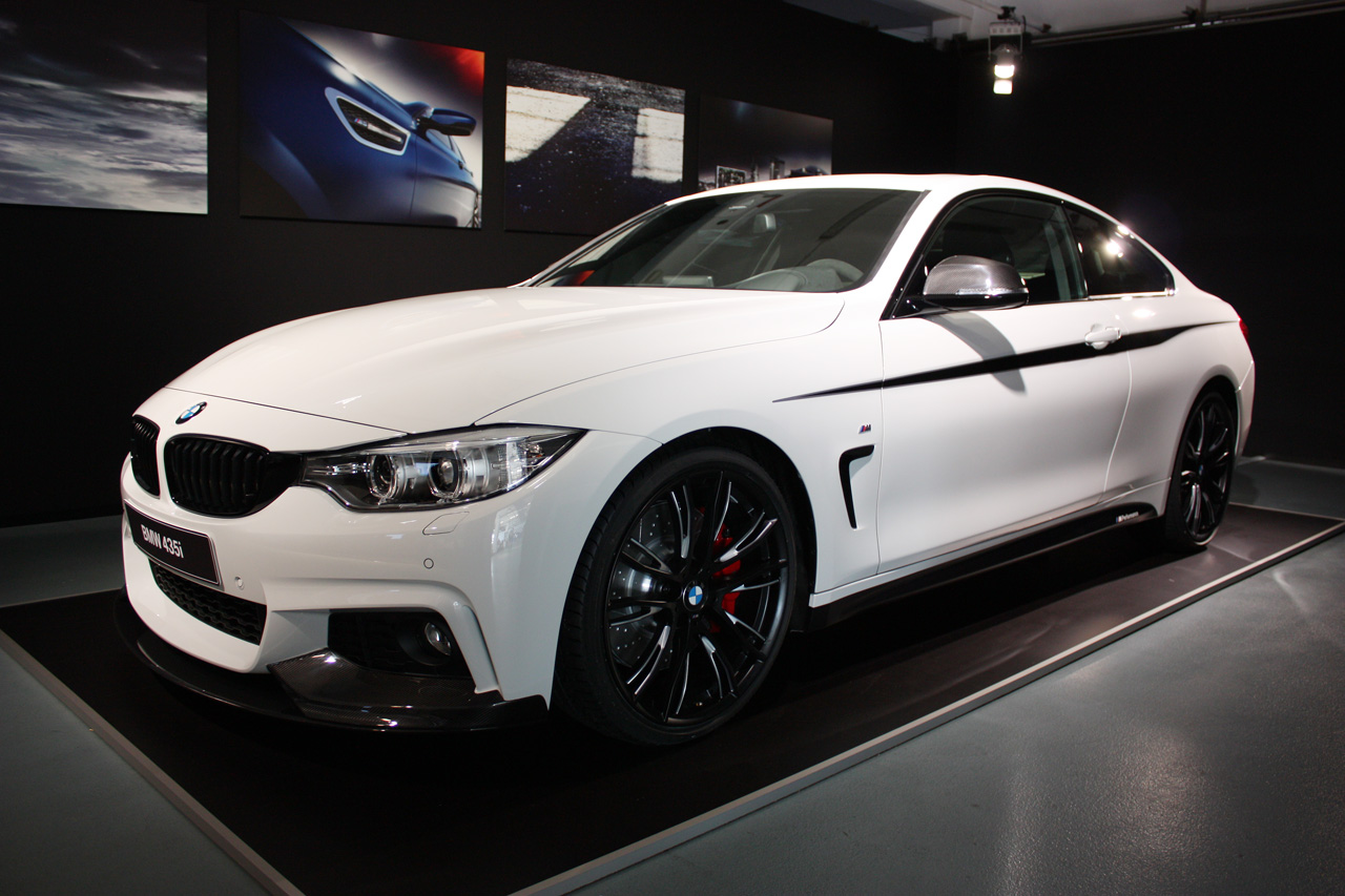 Bmw Shows Off 435i Coupe With M Performance Parts Autoblog