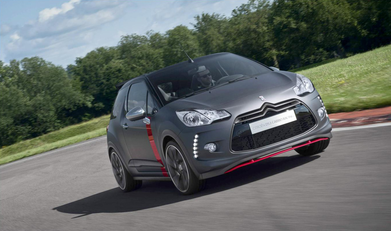 citroen ds3 cabrio racing going into limited production autoblog. Black Bedroom Furniture Sets. Home Design Ideas