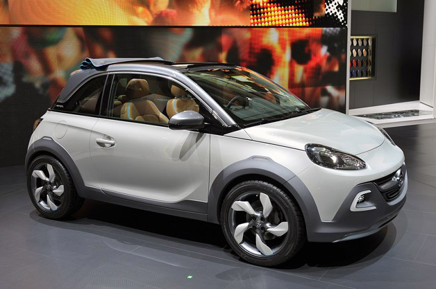 opel adam convertible headed for production. Black Bedroom Furniture Sets. Home Design Ideas