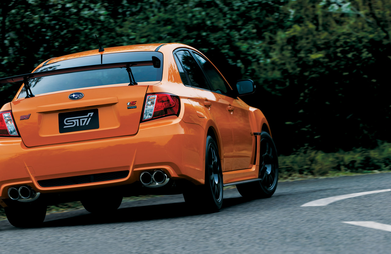 Subaru Certified Pre-Owned >> Subaru unveils catchily named WRX STI tS Type RA in Japan ...