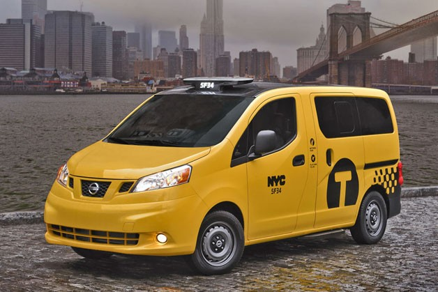 Checker Cab London >> Nissan's NV200 'Taxi of Tomorrow' enters production